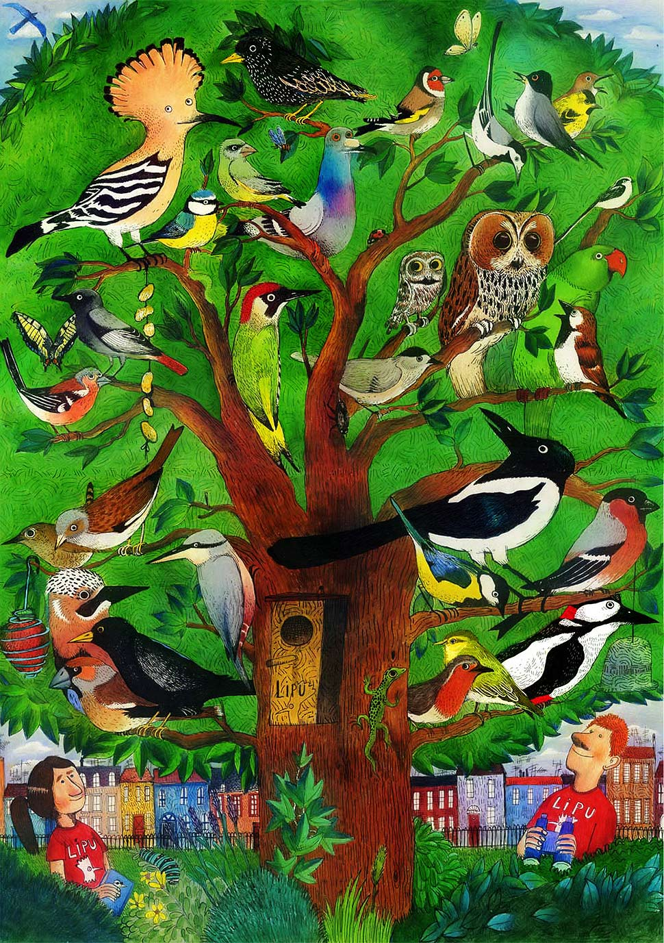 Federico Appel - Il giardino degli uccelli