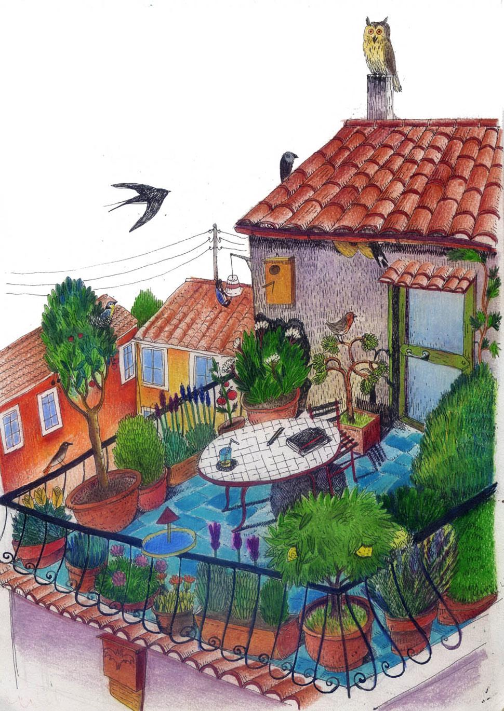 Come trasformare il tuo balcone o il tuo terrazzo in un giardino per ...