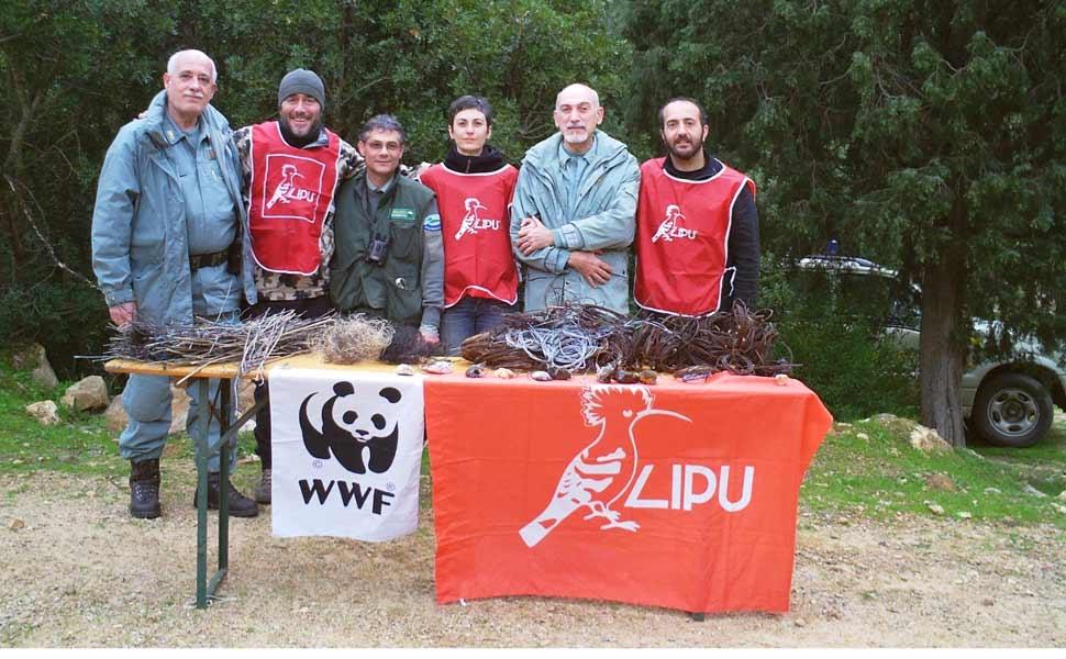 Sardegna, rimosse quasi 1.000 trappole in pochi giorni