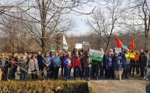 Sopra e sotto, con la Lipu di Cuneo alla manifestazione di S.Croce di Vignolo sui 3 canali storici - Roero - Miglia - Morra